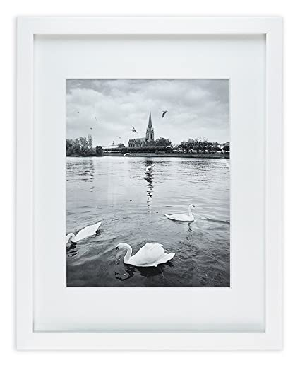 Amazon.com - Golden State Art, White Photo Wood Collage Frame with ...