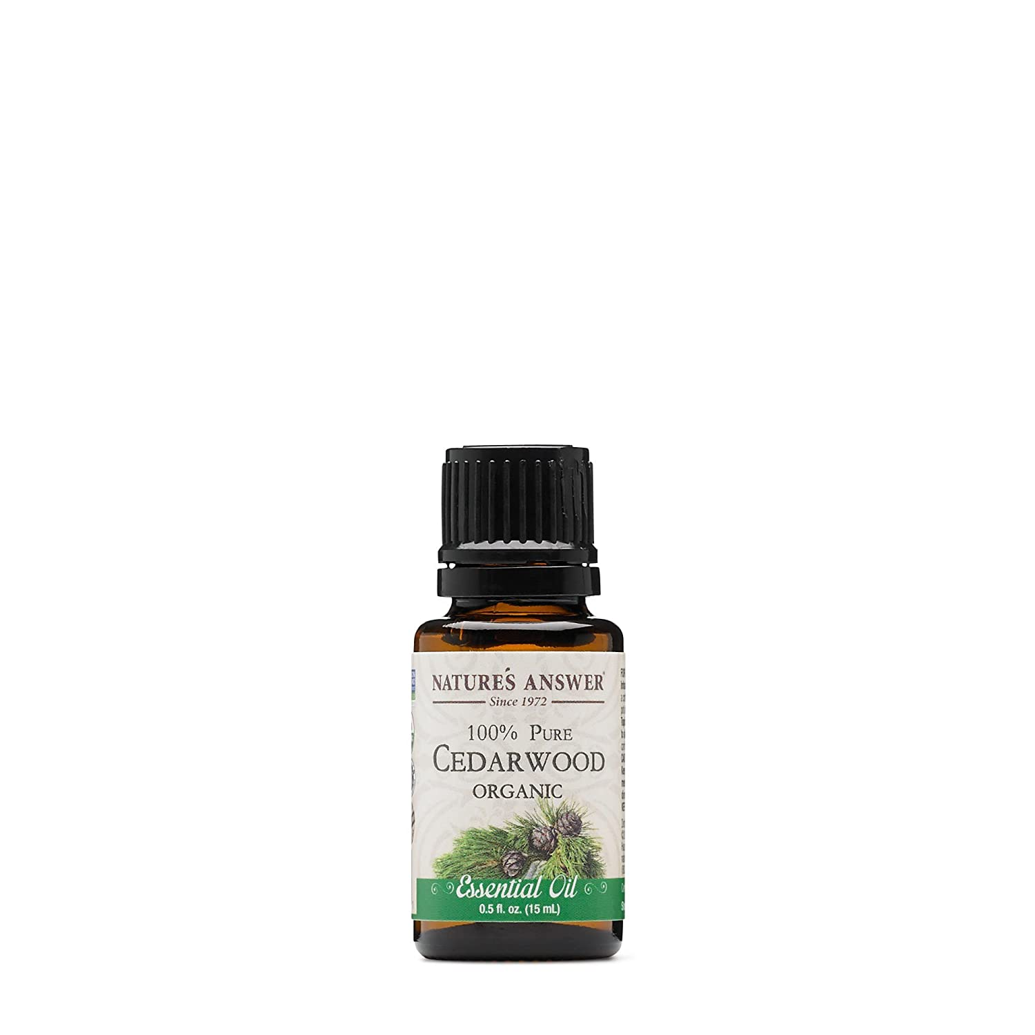 Nature's Answer 100% Pure Organic Essential Oil, 0.5-Ounce, Spearmint Nature's Answer