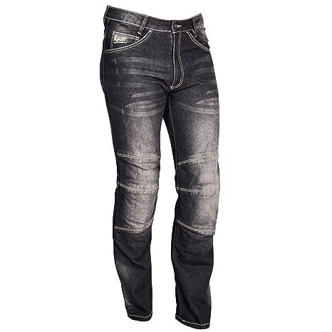 Racer Cordura Kevlar Stretch Jeans, Negro, M: Amazon.es ...