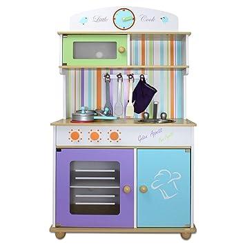 Froggy® Kinderküche Spielküche BTK01 Aus Holz