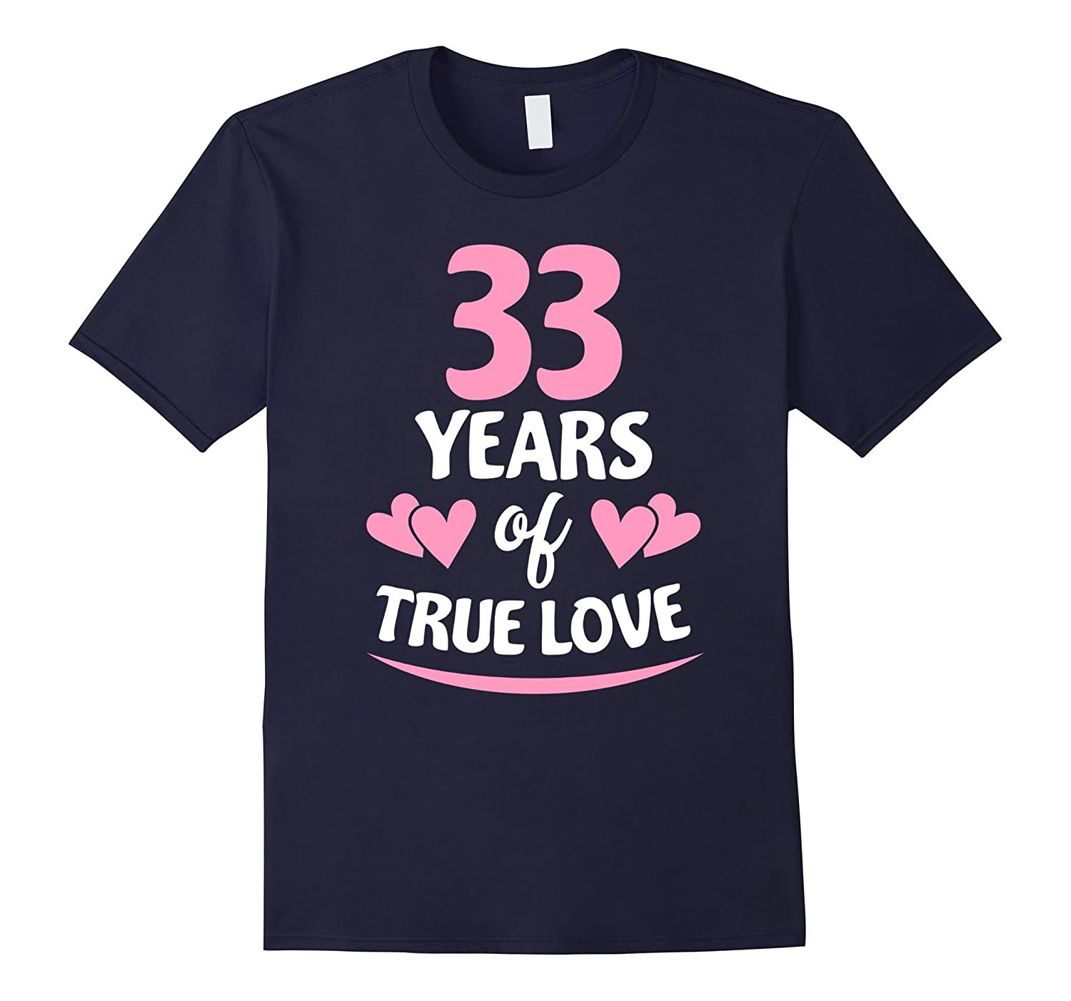 33rd Anniversary Gift for Mom and Dad T-Shirt
