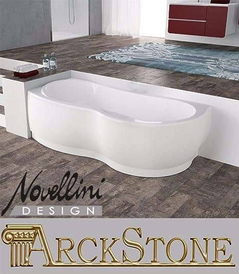 Bathroom Bath Tub Corner Angle Asymmetrical Rectangular Curve Brand ...