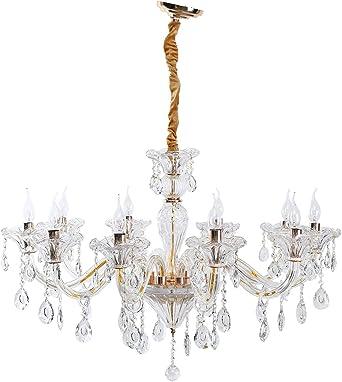 rose gold and crystal chandelier | Superb Rose Gold 6 Arm