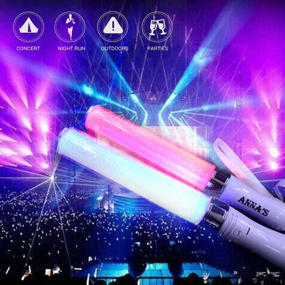 LED Light Stick Leuchtende Leuchtstab Bunte Feier Bar Tool Event Night Glowing Sticks Partei Liefert
