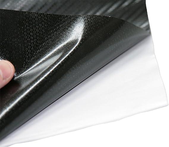 NewL Carbon Folie 5D Struktur f/ühlbare Struktur 30 x 152 cm selbstklebend Carbonfolie Auto Klebe Folie folieren 30cm x 150cm 5D