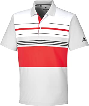 adidas ultimate365 Engineered Block Polo de Golf Homme XXL Gris y0pPcb