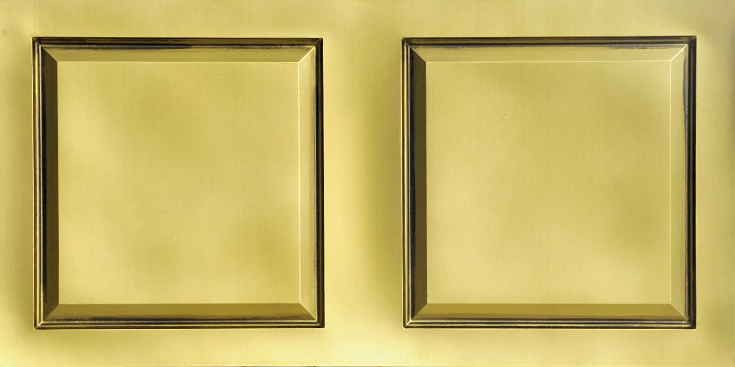From Plain To Beautiful In Hours 505ab-24x48 Ceiling Tile Antique Brass