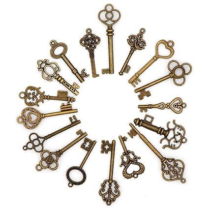 12 unids llaves para invitaciones, recuerdos, scrapbooking, decoracion bodas, bautizos, cumpleaños