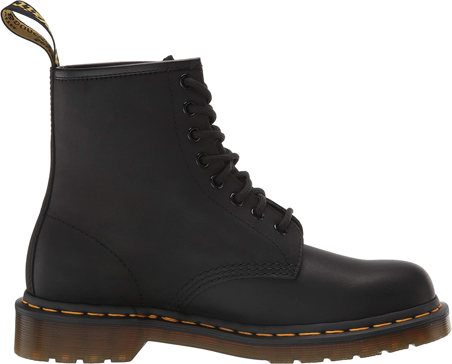 Womens 10 US Dr Martens 1460 8 Eye Boot 8 UK//Mens 9 Black Greasy