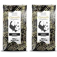 Café de Brasil en grano Consuelo, 2 paquetes