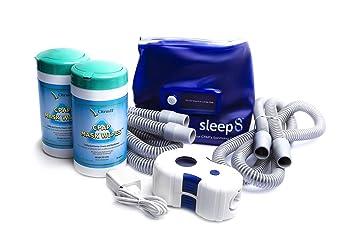 Amazon.com: Sleep8 CPAP Limpiador con bolsa de desinfección ...