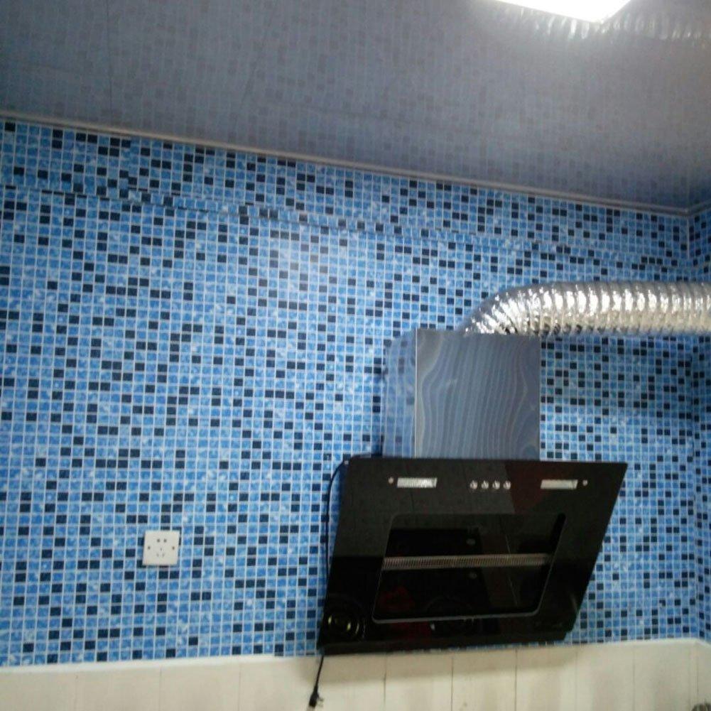 Fayear 3m Self Adhesive Waterproof PVC Mosaic Grid Tile Wall ...