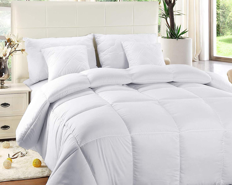 Steppdecke 135 x 200 cm Utopia Bedding Bettdecke Sommerdecke 540g F/üllung Microfaser Antiallergisch f/ür Allergiker