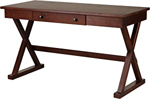 Amazon Brand – Stone & Beam Classic Home Office Desk with Drawer, 54