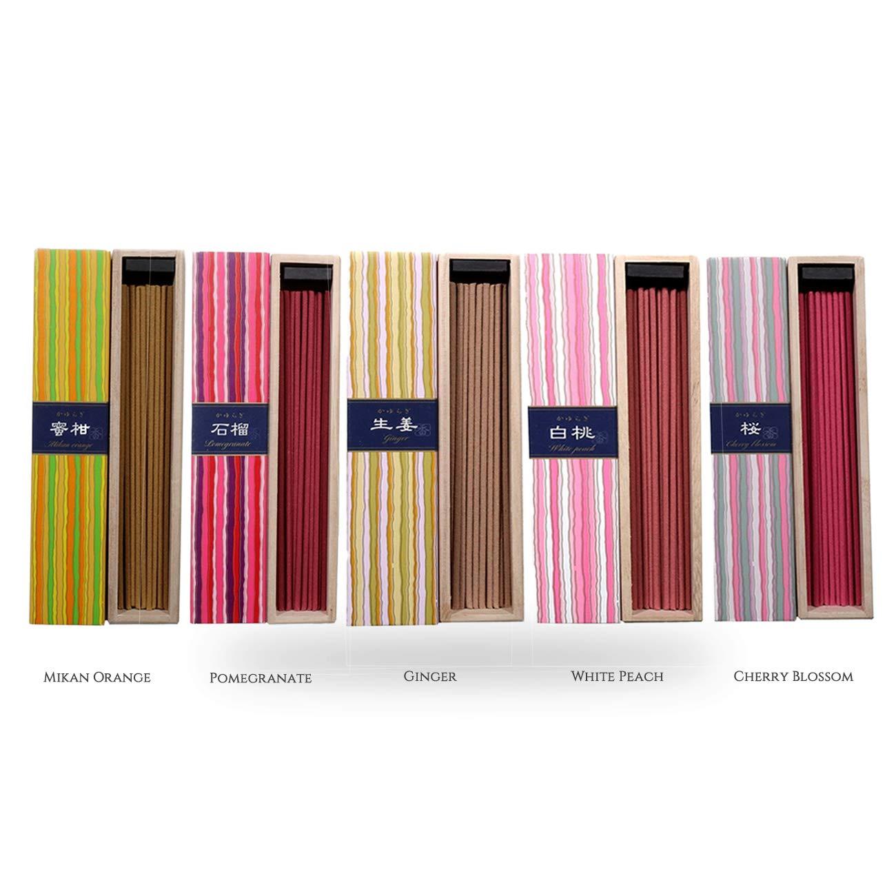 驚きの安さ iTakara 日本香コレクション | 日本の庭 日本の庭 40x5 B07L4PD9VS | リラックス |、瞑想、祈り、読書、ヨガ用フローラルとアロマの木の香り | クリーン燃焼、ピュアな香り B07L4PD9VS, 自然の美味しさお届け便:322d71b5 --- martinemoeykens.com