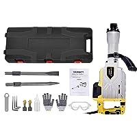 Catinbow 2100bpm Electric Demolition Jack Hammer works with Case and Glove, 3800w Hammer Demolition Drills 110V