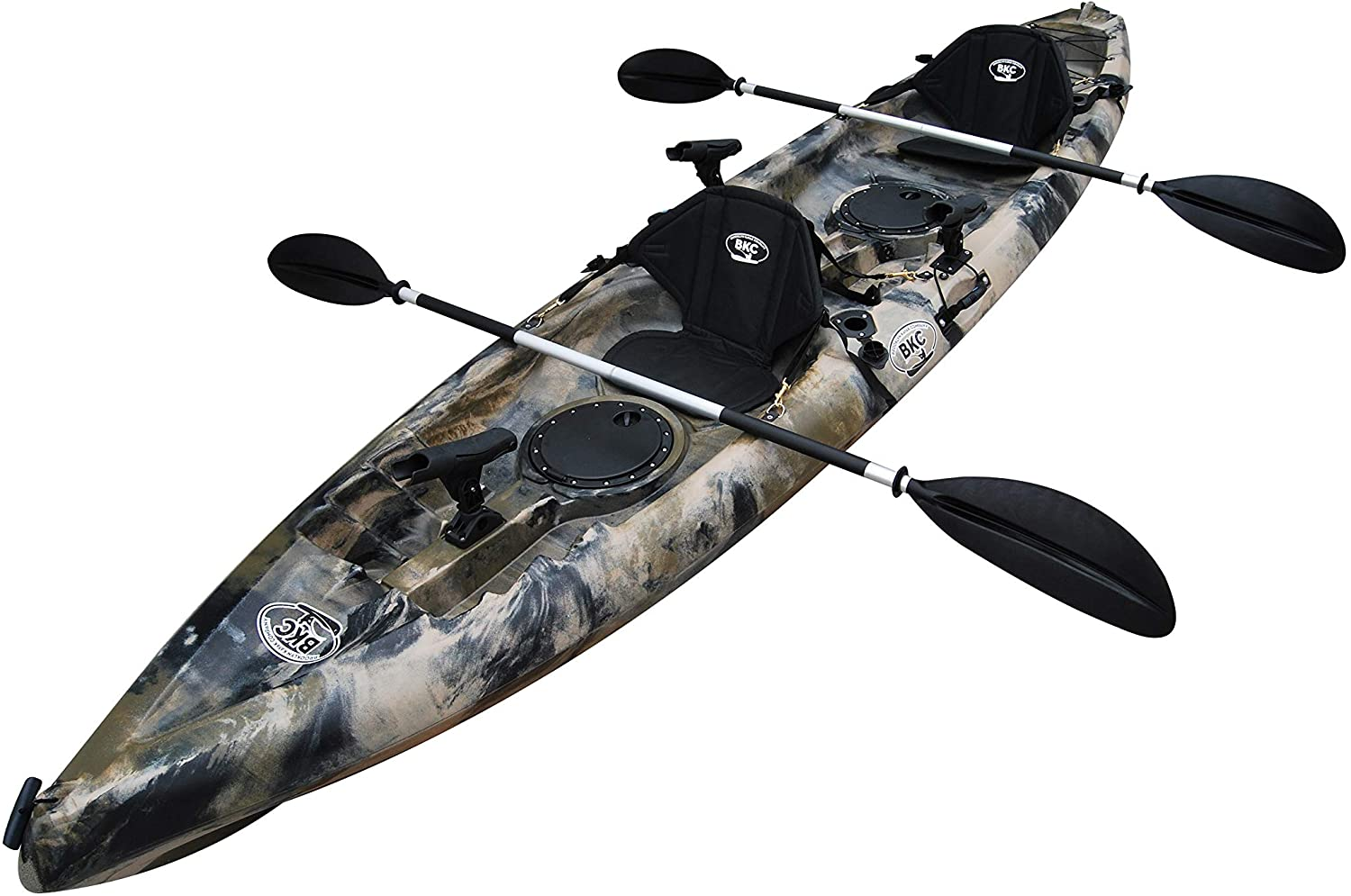 Best fishing kayak: BKC UH-TK181 12-foot 5-inch 2 Person Fishing Kayak