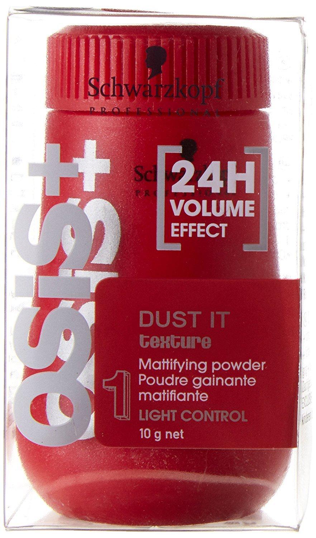 Schwarzkopf OSiS Dust It Lot de 2 pots de poudre matifiante pour cheveux, 2x 10ml, avec shampooing de 15 ml ou masque de 10ml Schwarzkopf Professional