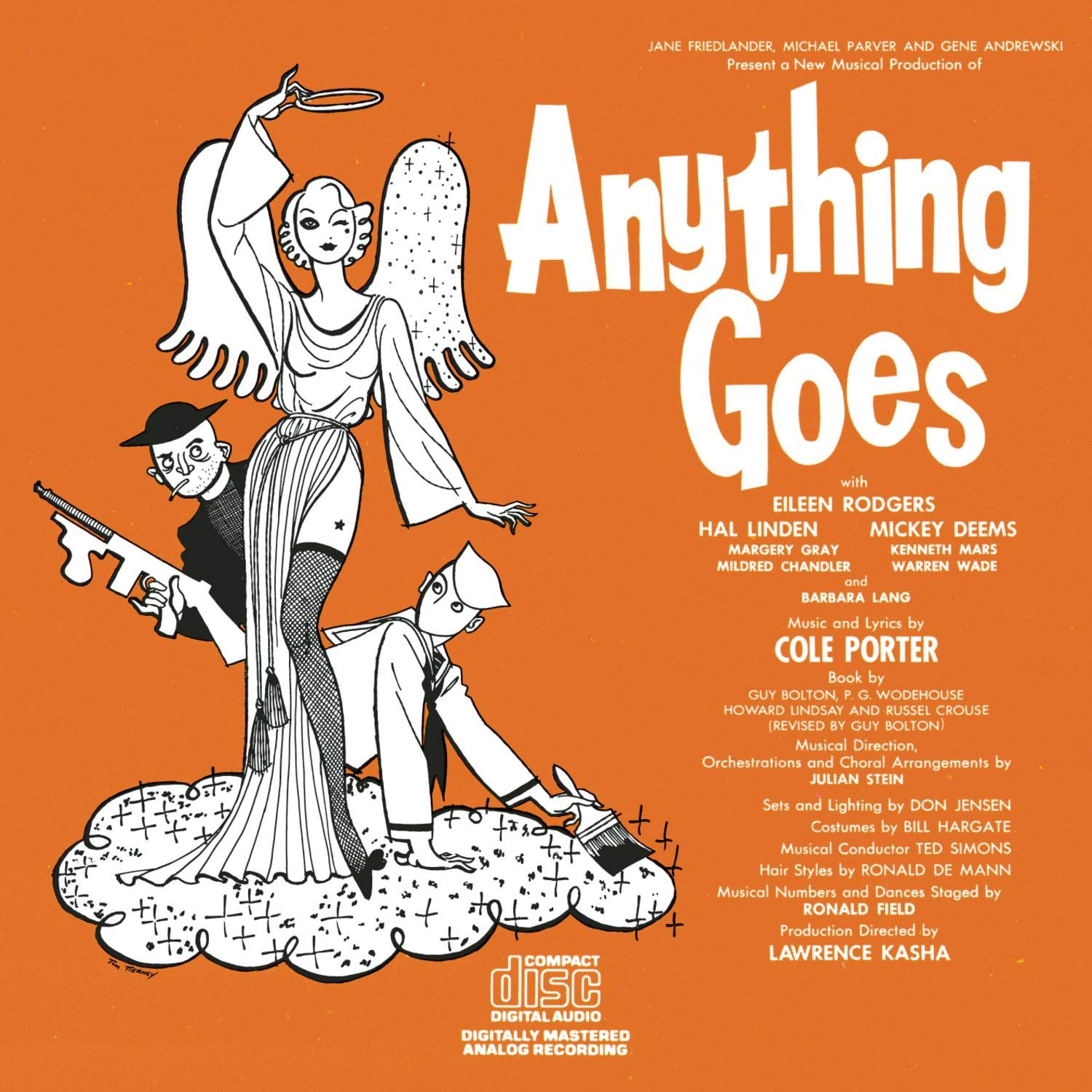 Anything Goes 1962 Industry Nippon regular agency No. 1 Off-Broadway Cast