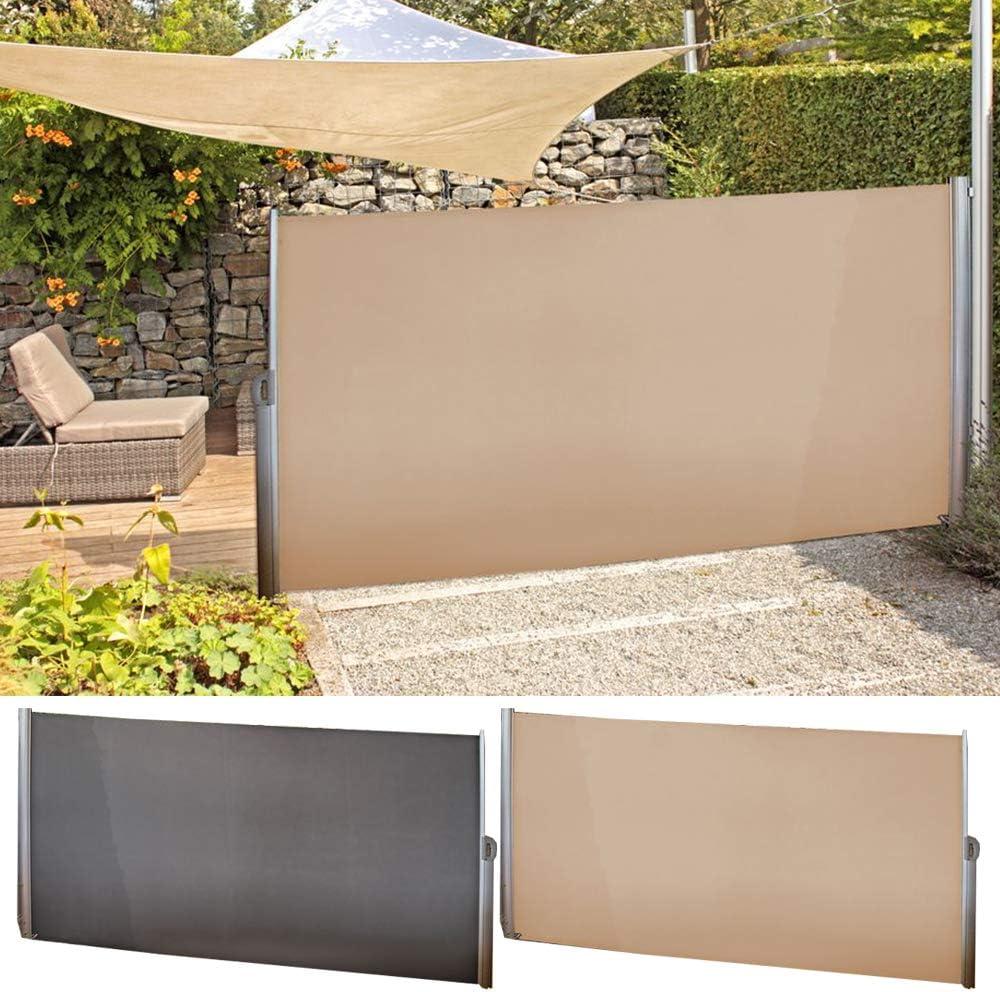 Nxtbuy Seitenmarkise 300 X 160 Cm Premium Garten Sichtschutz