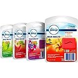 Febreze Wax Melts Air Freshener Variety Pack, Fresh-Pressed Apple, Hawaiian Aloha, Moonlight Breeze and Gain Original Scents (4 pack, 6 count each)