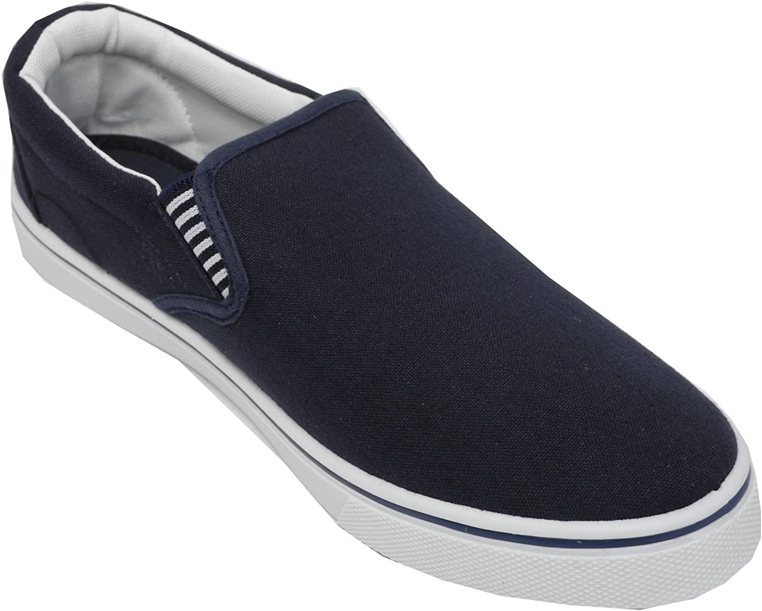 Sizes 6,7,8,9,10,11,12,13 Red Fish Mens Blue Slip On Casual Shoe
