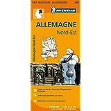 Carte Allemagne Nord-Est Michelin