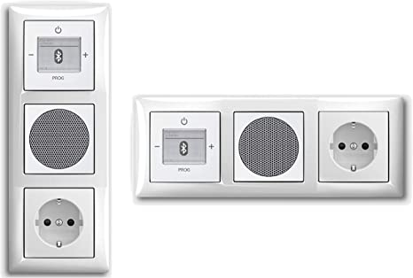 Busch Jäger Bluetooth Radio Komplett Set 8217 U 8217U Lautsprecher 2f Alpinweiß