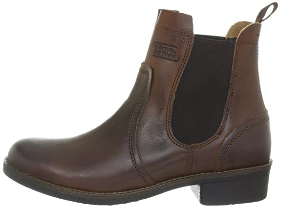 Camel Active ankle boots MODENA 780.71.01 cognac brown leather