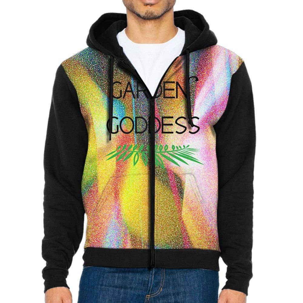 Xdsbghhsnfre Funny Beer Quote Mens Stylish Hooded Casual Long Sleeve Square Pattern Sweatshirt With Zipper