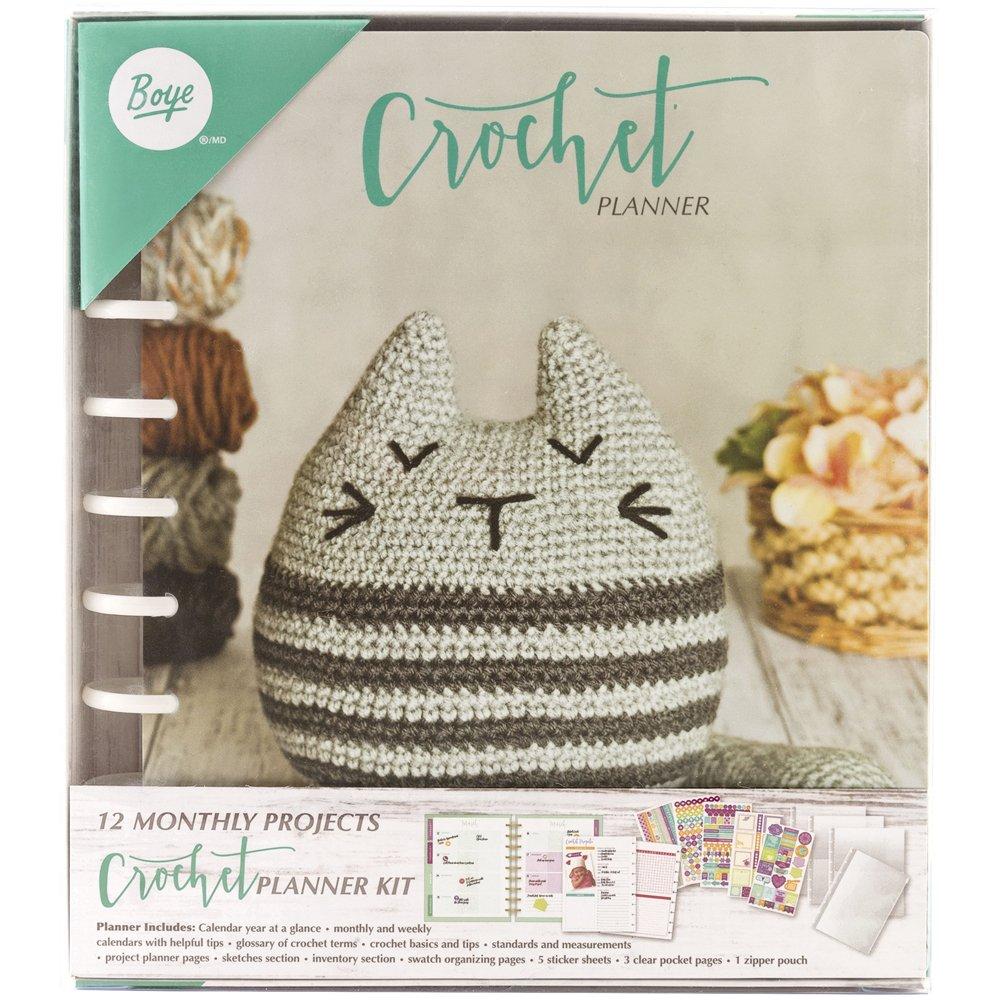 Boye - 12 planificador mensual (Proyectos Crochet Kit: Amazon.com.mx ...