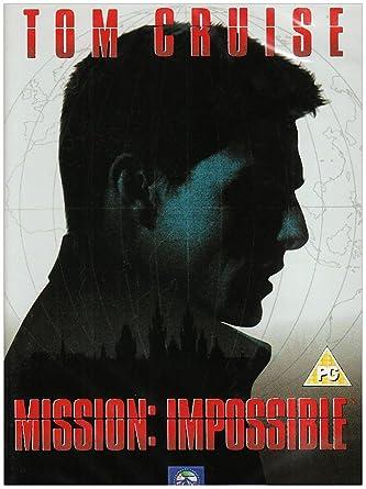 Mission: Impossible [Reino Unido] [DVD]: Amazon.es: Tom Cruise ...