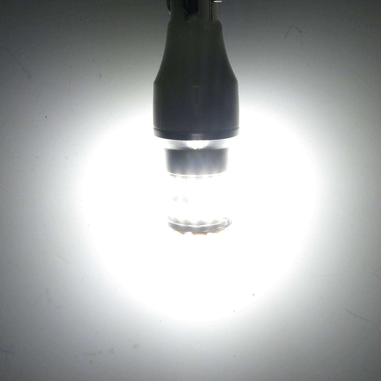 Alla Lighting 2pcs Super Bright 6000K White 921 LED Bulbs for Back-Up Reverse Light Lamps Replacement for 2004 2005 2006 2007 2008 2009 2010 2011 2012 2013 2014 2015 2016 2017 Toyota RAV4