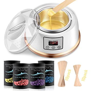 Amazon Com Waxing Kit Wax Warmer Larbois Hair Removal Waxing