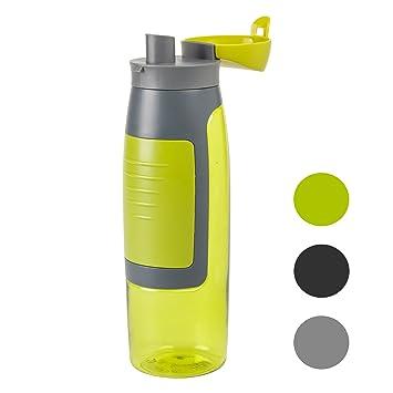Botella de deporte sin BPA, para el gimnasio. Botella deportiva hermética con capacidad de