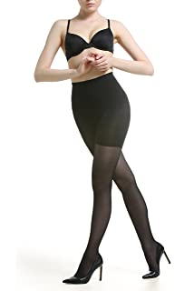 e8e9488a3 Body Shaper Control Tights - High Waist Shapewear Girdle Pantyhose - Tummy  Thigh Slimming Butt…
