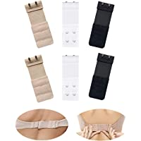Joojus Ladies Women Bra Extenders Elastic Stretchy Bra Extender Band Bra Extension Straps, Add Soft Comfortable Back Bra…