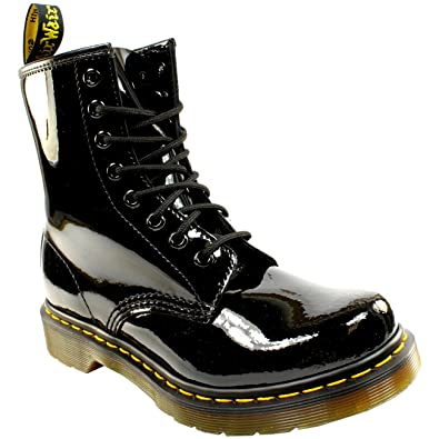 Dr. Martens 1460 8 EYE BOOT LAMPER - Lace-up boots - black SXVHCo