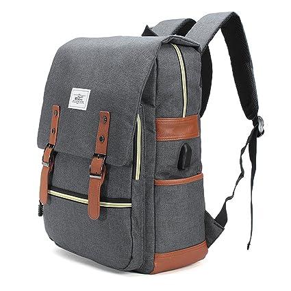 Al aire libre mochila, tezoo conector de carga con USB recargable multifunción impermeable gran capacidad
