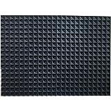 "12 Pack Set Acoustic Foam Panels, Studio Wedge Tiles, Acoustic Foam Sound Absorption Pyramid Studio Treatment Wall Panels 2"" X 12"" X 12"""
