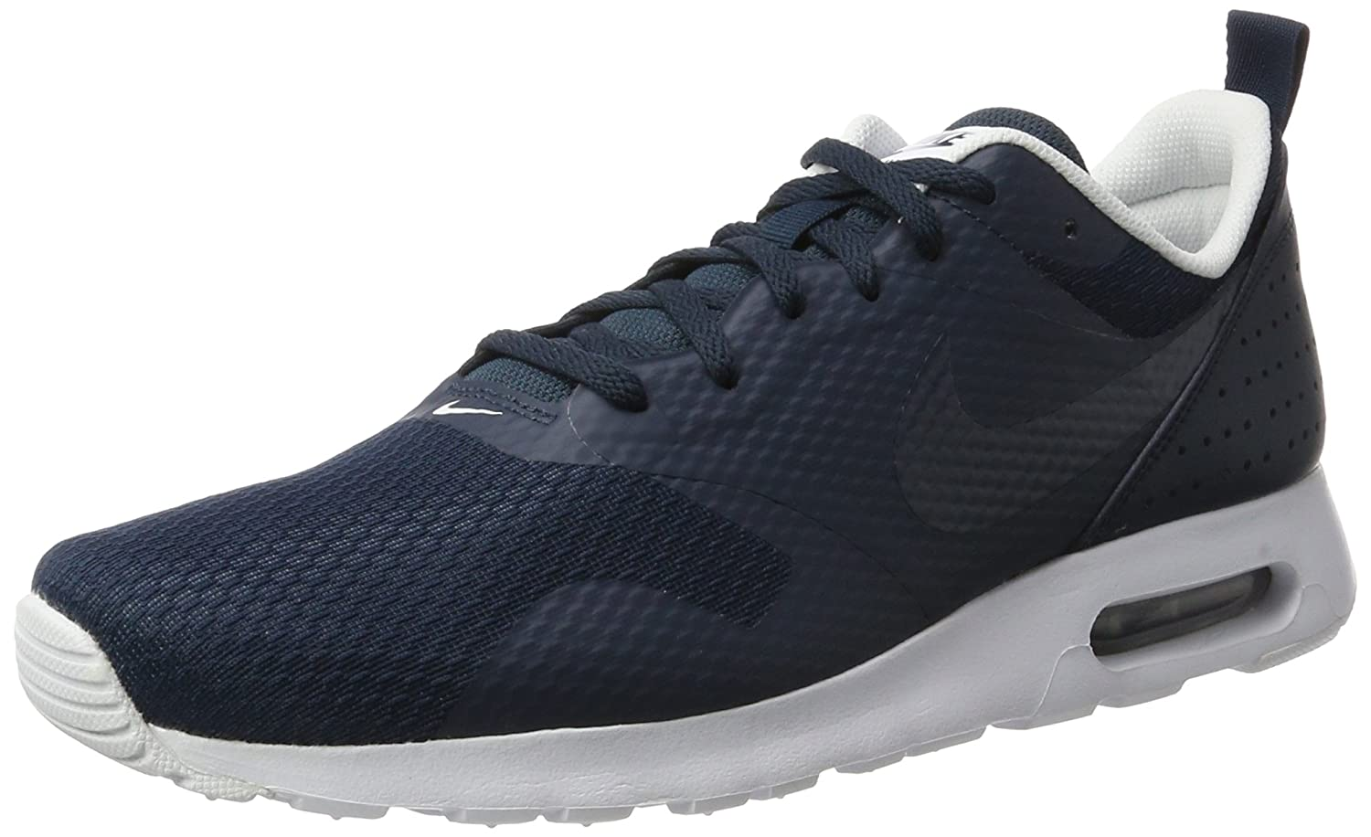 huge selection of e3490 71fcd Authentic Nike Mens Air Max Tavas Running Shoes Armory Navy Armory  Navy White Shop
