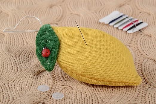 Alfiletero de tela artesanal cojin para agujas cosa para ...