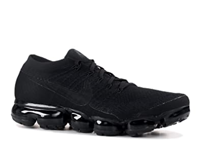 980f760e24 SasleTOPS Air Vapormax Flyknit Triple Black 849558 011 Mens Running Shoes