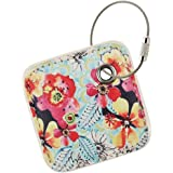 for Tile Mate - Key Finder. Phone Finder. Anything Finder. Tile Mate Case Cover with Keychain. Tile Mate Skin PU Leather Protection -Flower