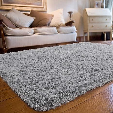 Large Fluffy Anti-Slip Rugs Shaggy Rug Large Soft Carpet Mat Living Room Floors