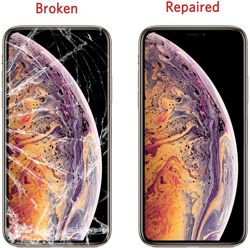 Front Outer Lens Glass Screen Replacement Repair Kit for Apple iPhone Xs Max Series Original iPhone Xs Max Screen Replacement