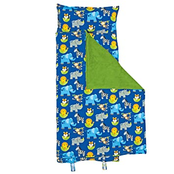 Amazon.com: Stephen Joseph Nap Mat All-Over Imprimir, Zoo: Baby
