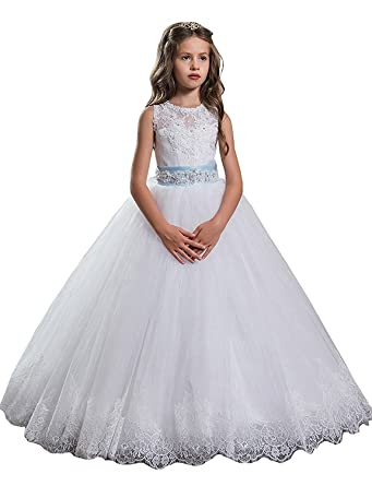 Amazon helen white lace 2018 princess flower girls dresses amazon helen white lace 2018 princess flower girls dresses toddler pageant dress 011 clothing mightylinksfo