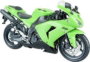 Kawasaki Ninja Zx-10r 2006 Diecast Motorcycle Model Green