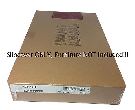Amazon.com: Ikea Kivik Loveseat Slipcover 2 Seat Sofa Cover Dansbo Medium  Red (Cover Only): Home U0026 Kitchen